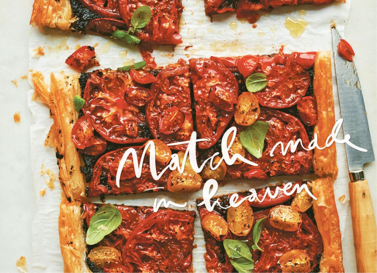 Lekkerder dan pizza: tomatentaart met tapenade