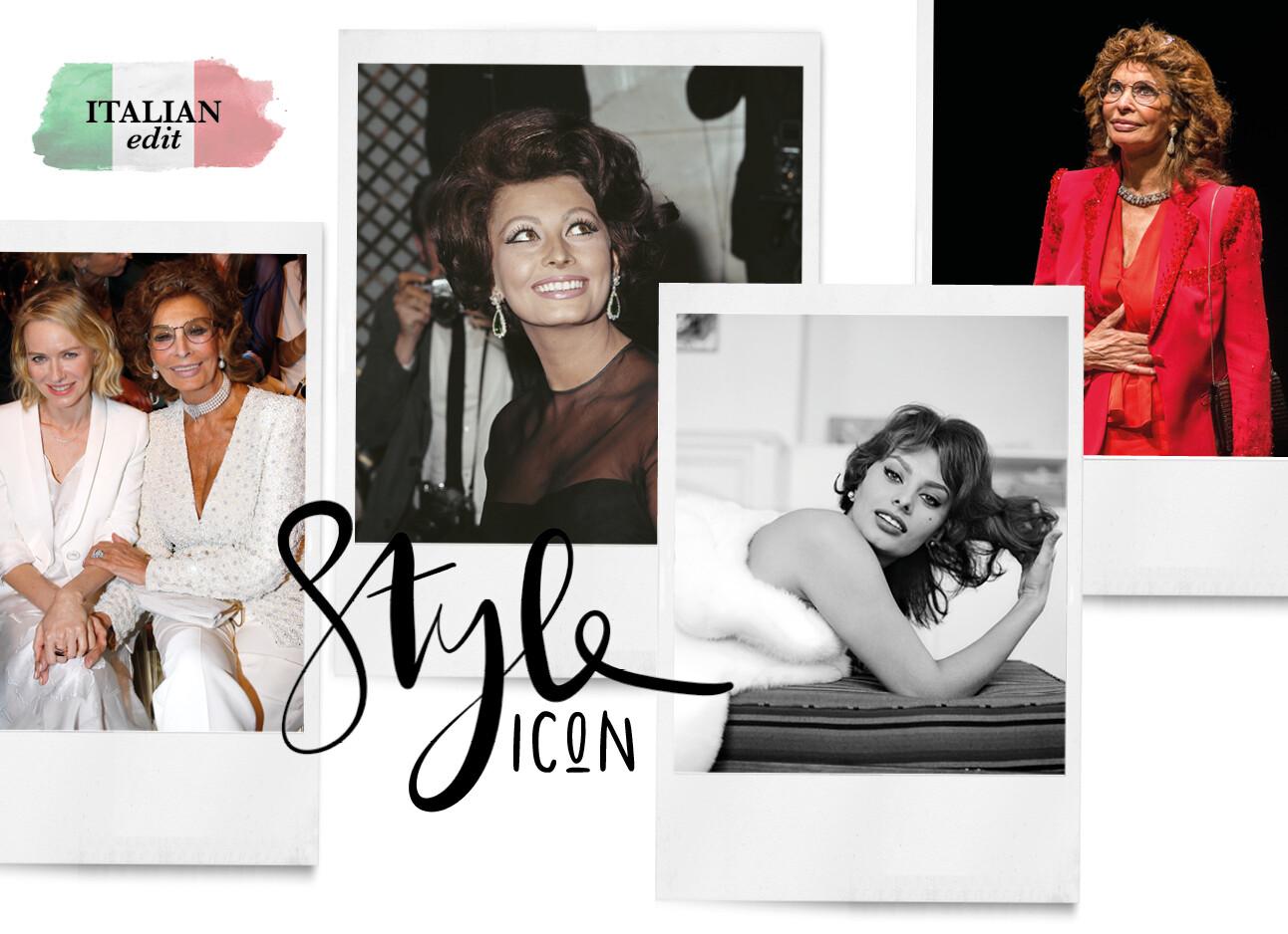 Sofia Loren italiaanse vrouw