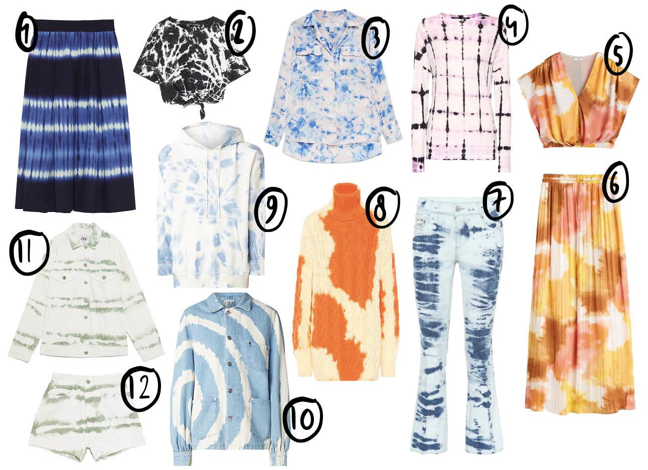 tie dye shopping