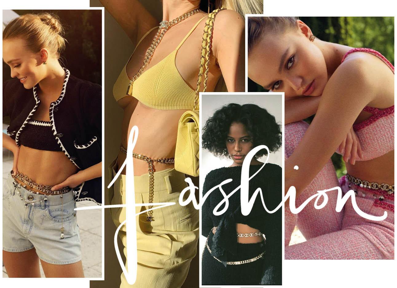 Van Chanel tot Dior: de Belly Chain is een ding