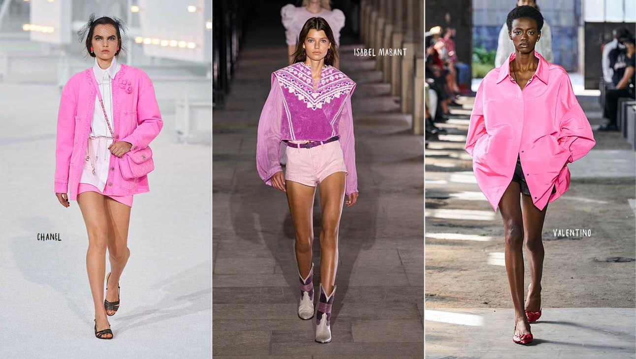 (Runway: Chanel, Isabel Marant, Valentino)
