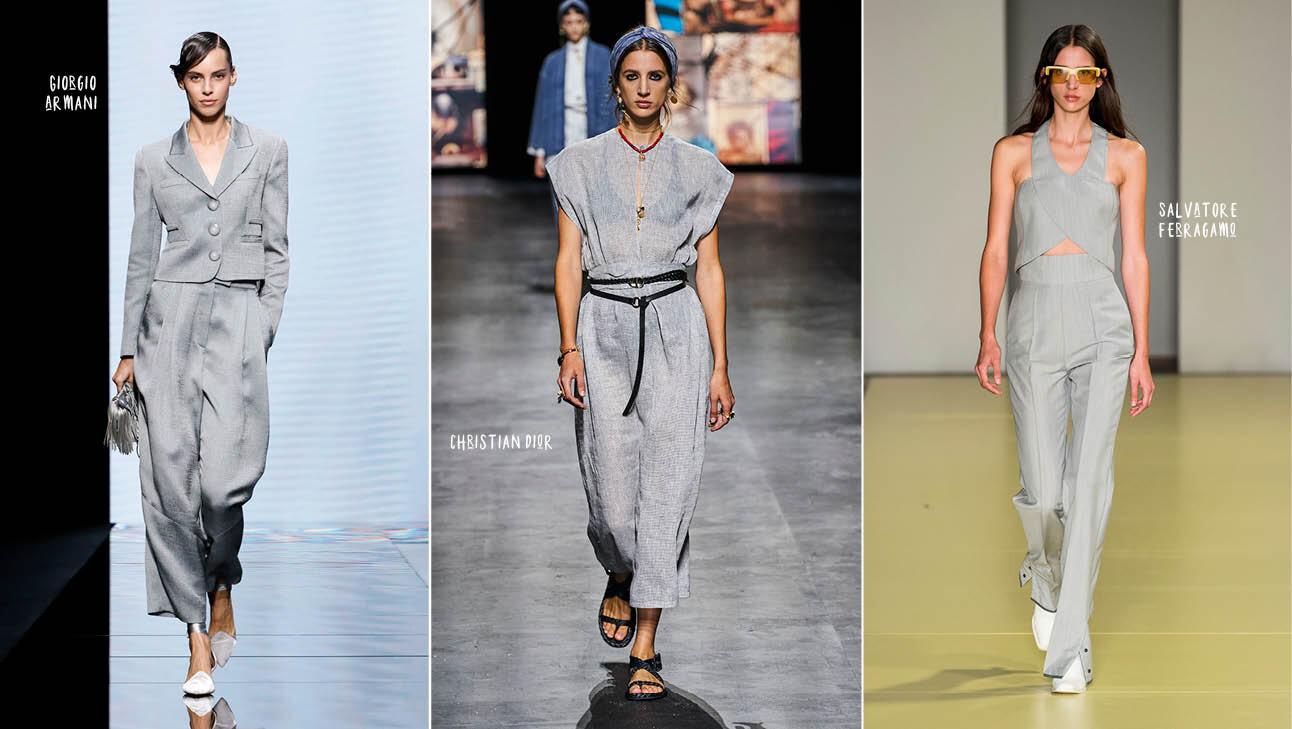 (Runway: Giorgio Armani, Christian Dior, Salvatore Ferragamo)