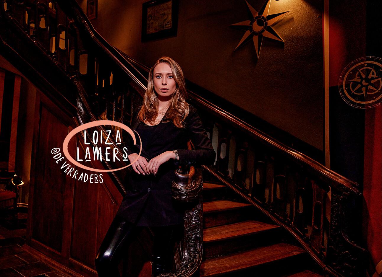 Loiza Lammers Vijf vragen over De Verraders