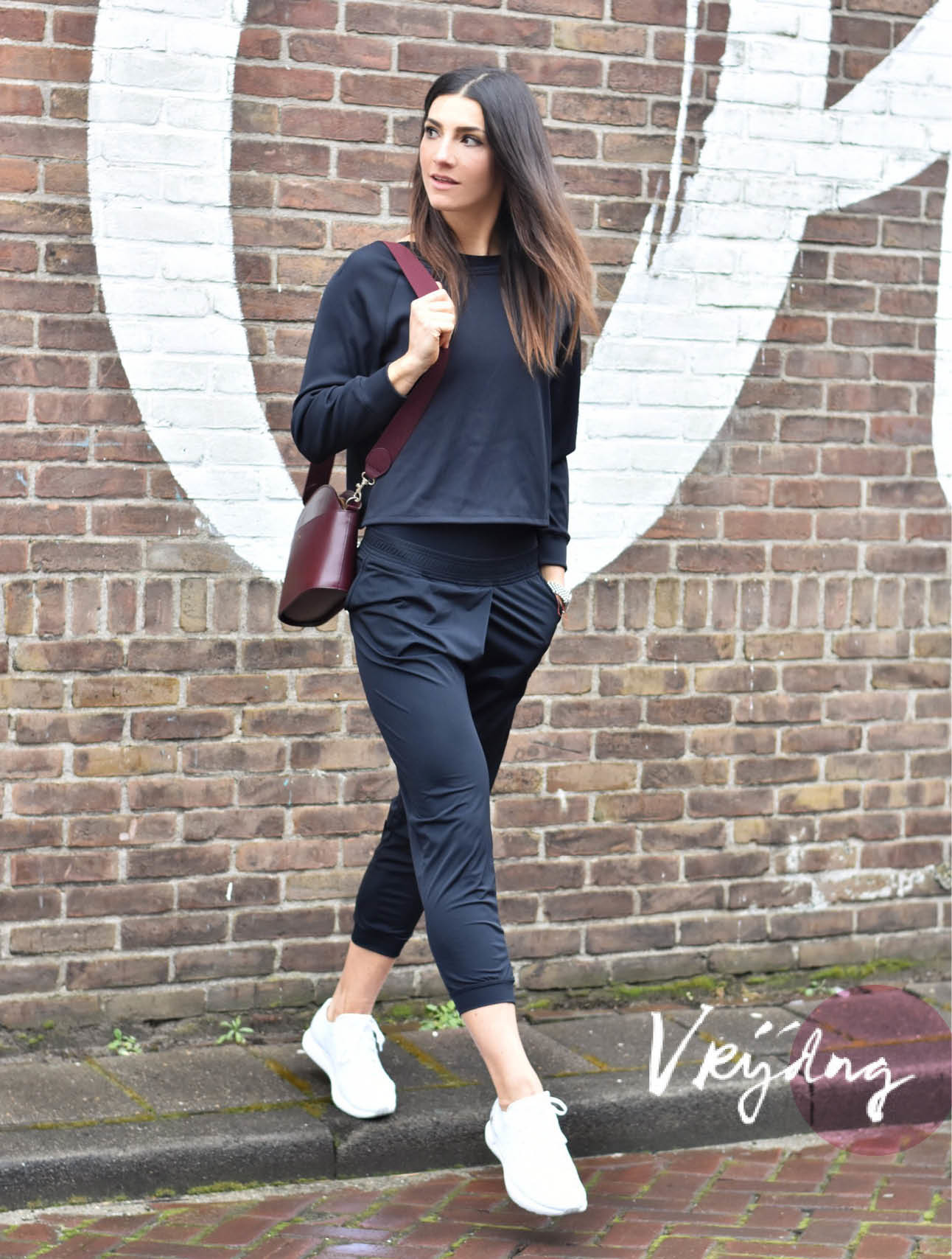 Look of the day Simone Olivia in Filippa K en Under Armour