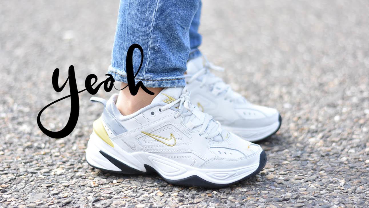 witte sneakers van Nike