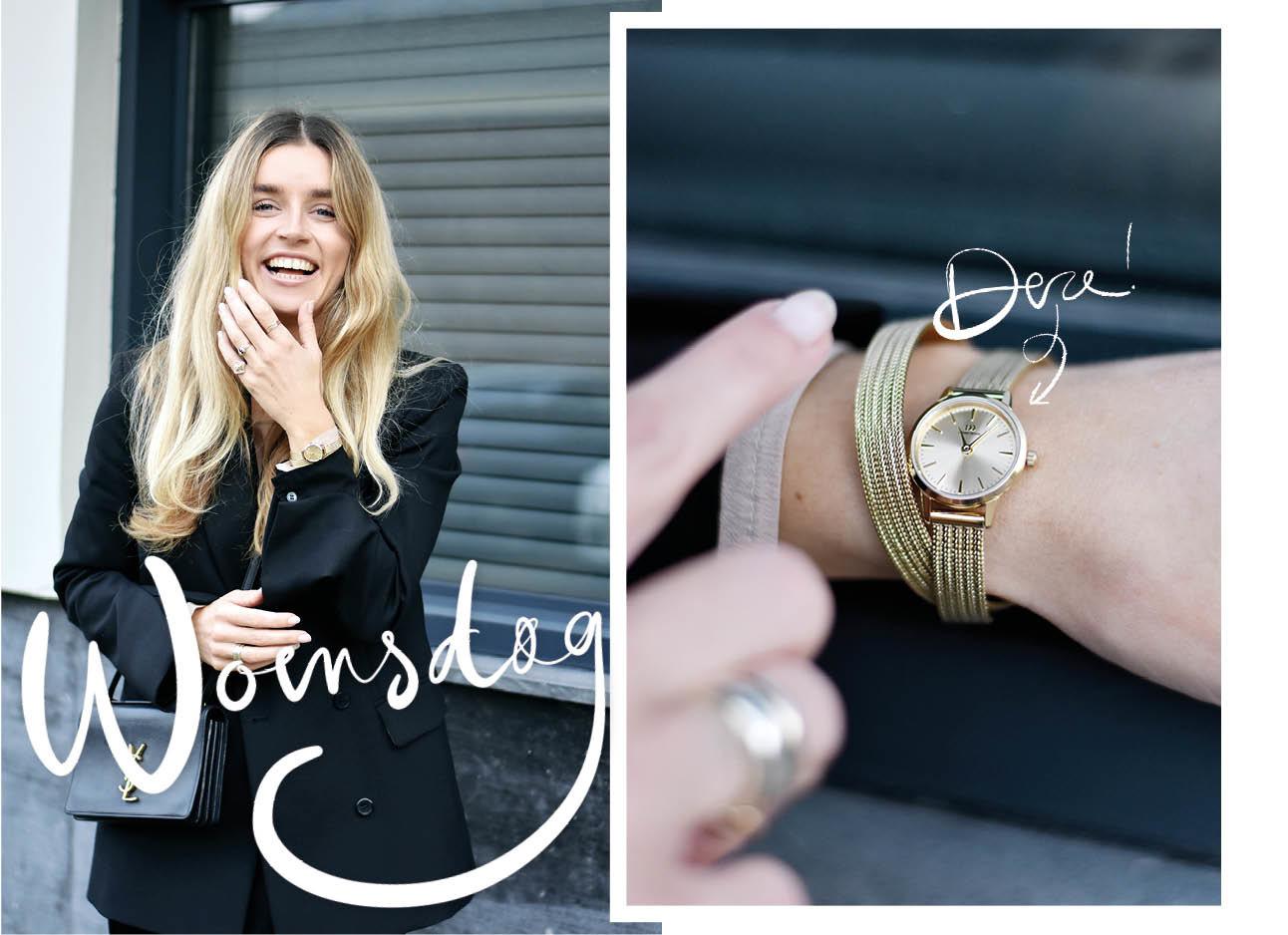 Lotte van Scherpenzeel met Danish horloge