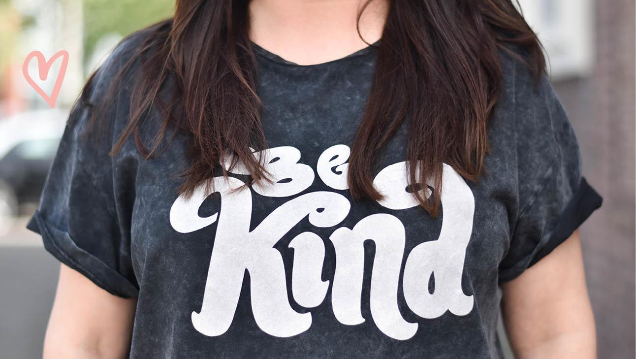 be kind t-shirt van catwalk junkie en de huismuts