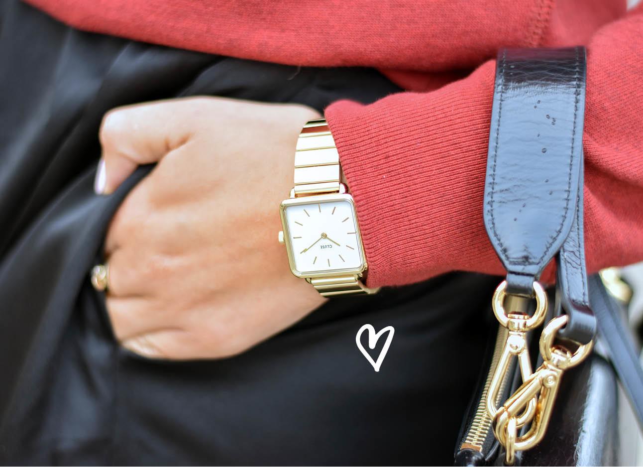cluse horloge close up