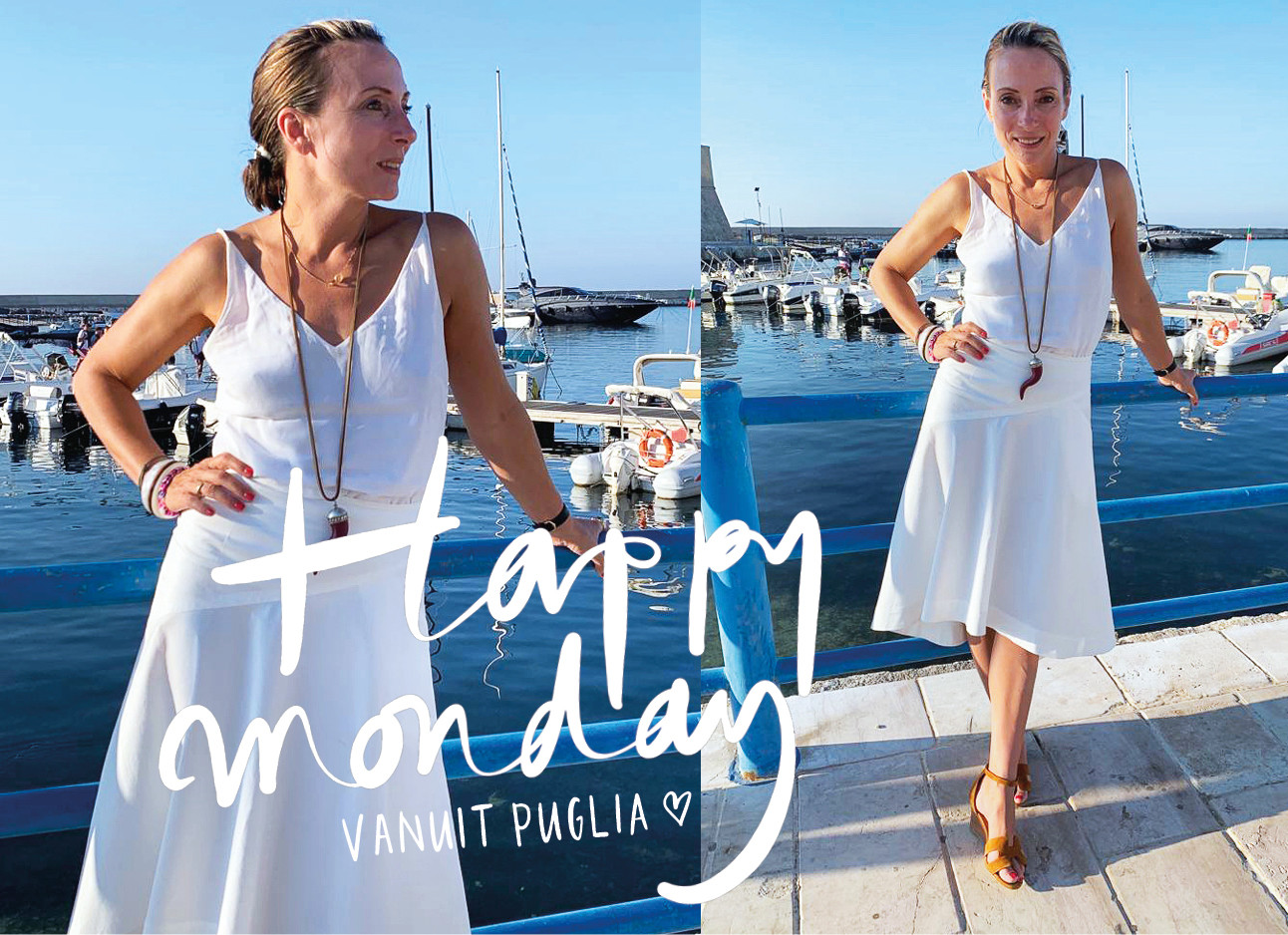 look of the day may-britt in italie witte rok en top