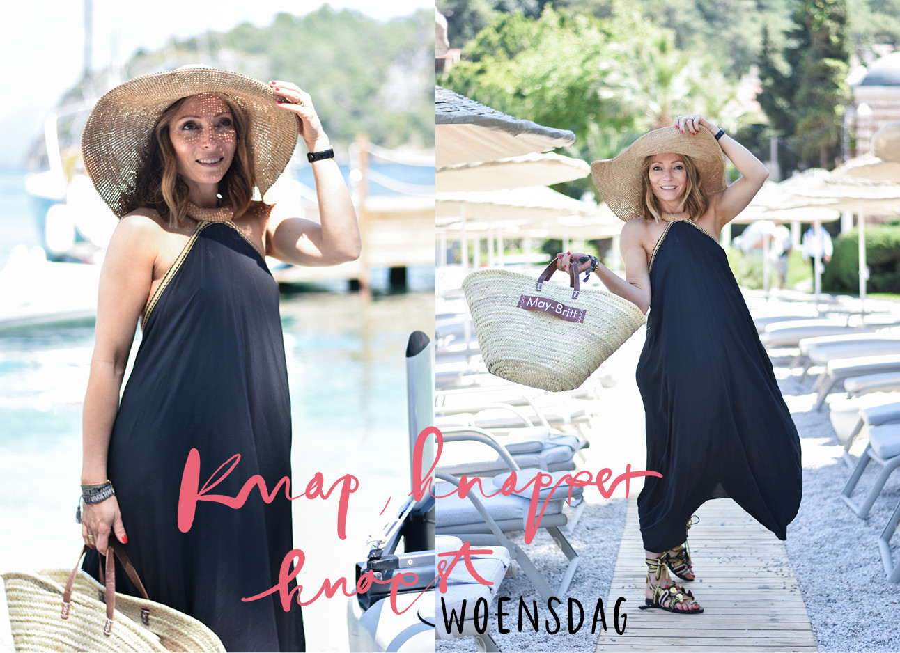 look of the day van may britt mobach op turkije hillside beach club
