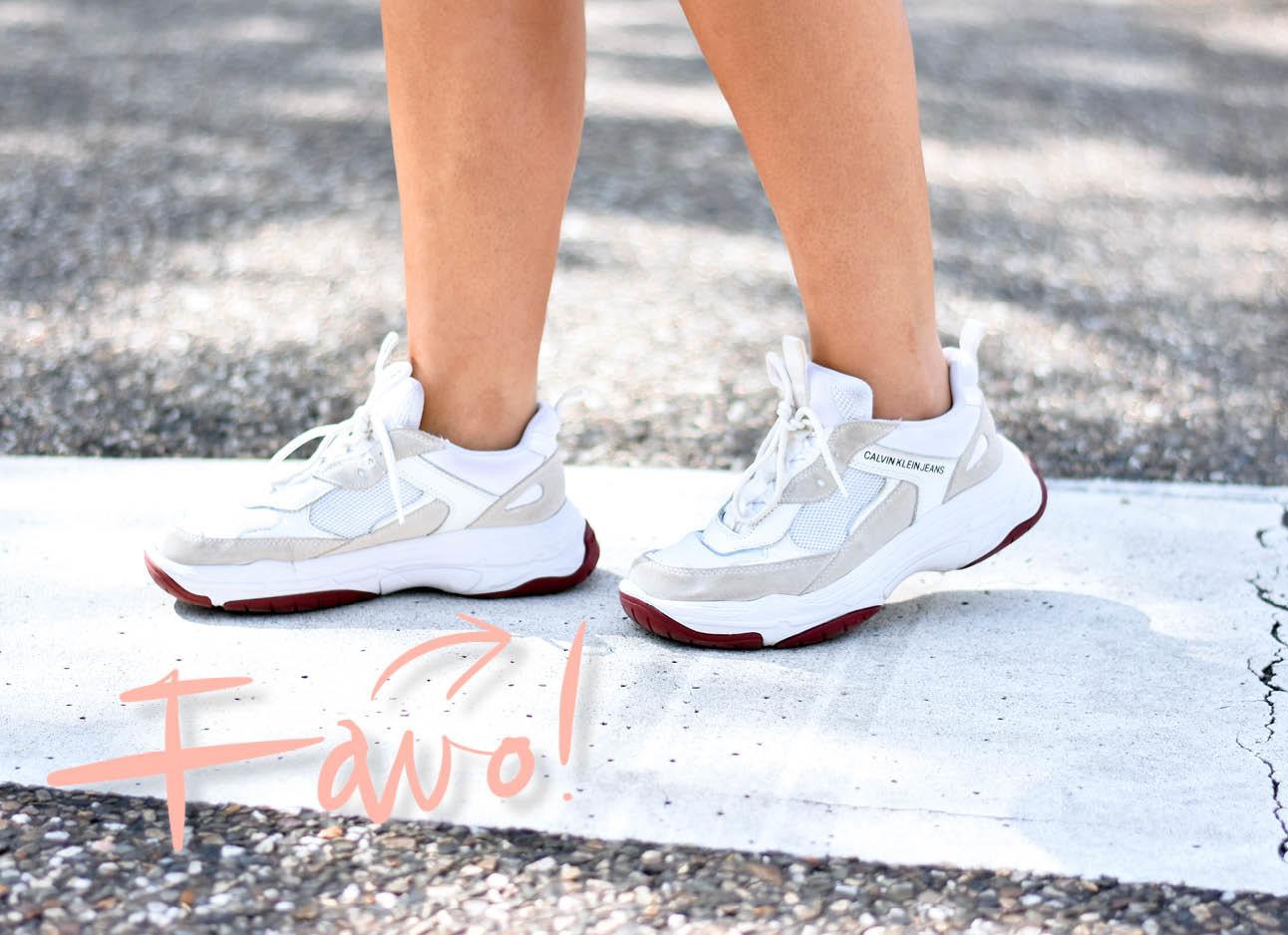 calvin klein sneakers close