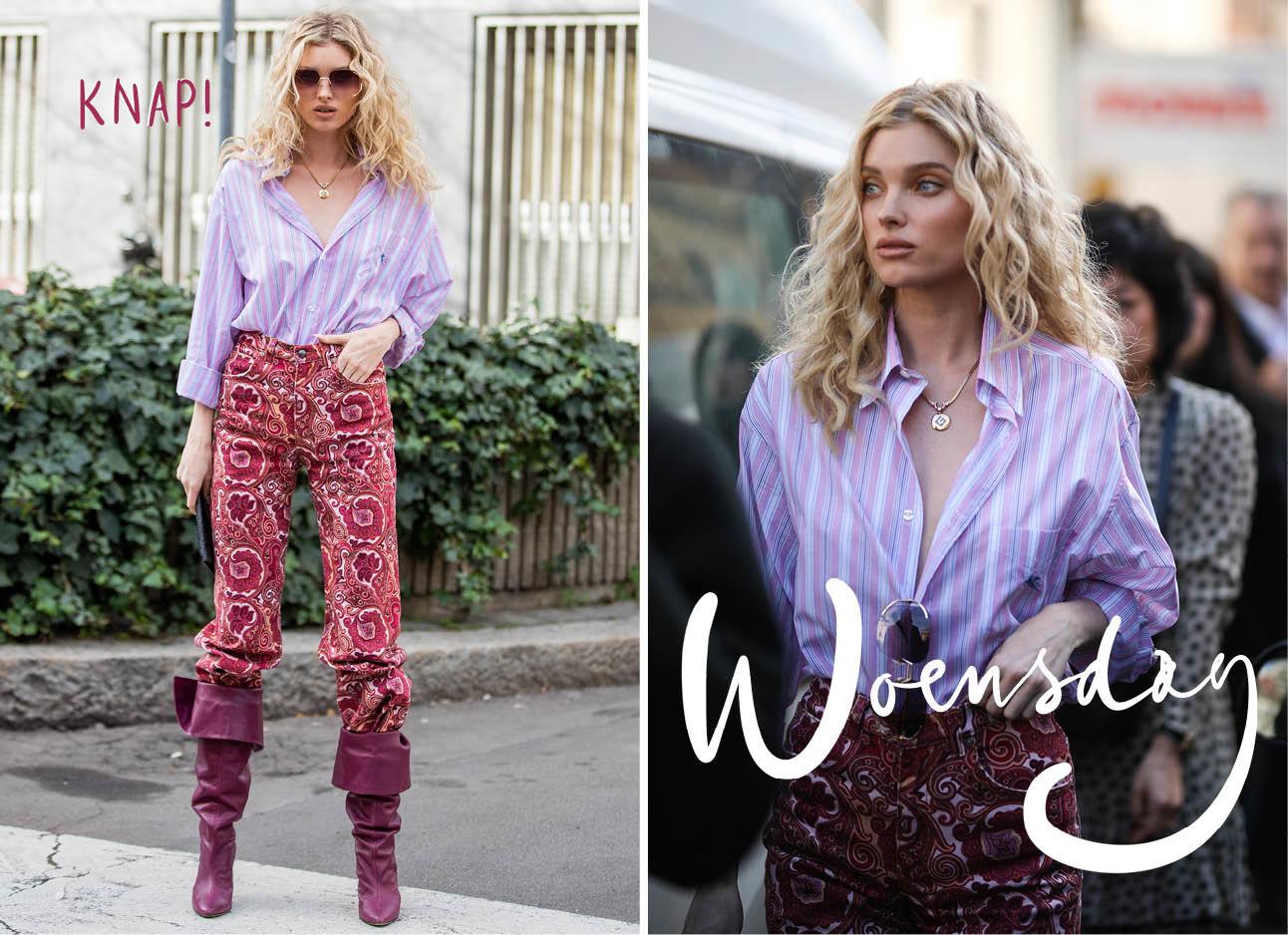 Elsa Hosk fashion