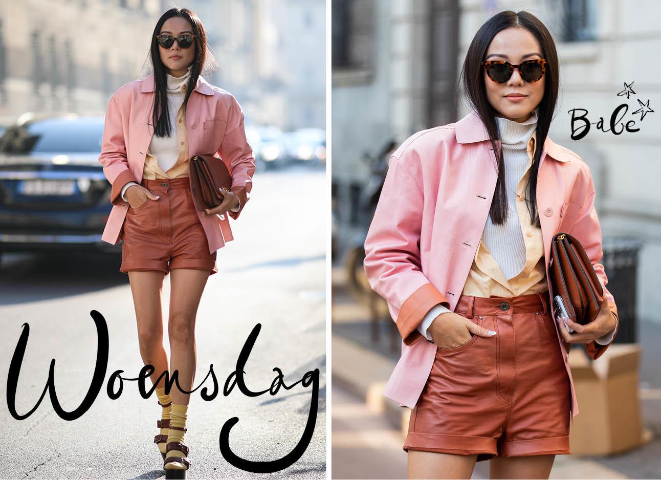 Milaan fashion week Yoyo Cao