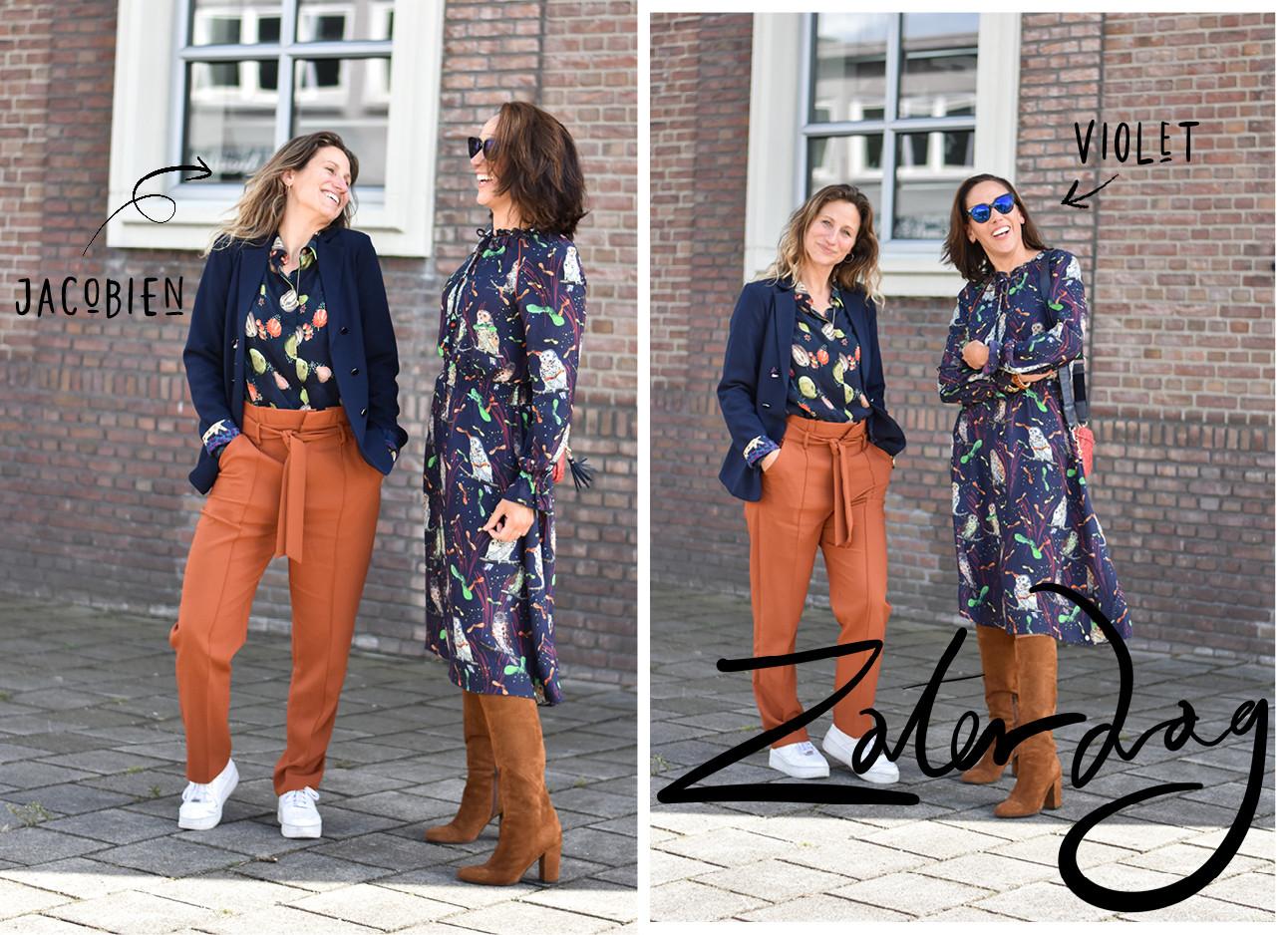 2 damens van het bedrijf POM AMsterdam