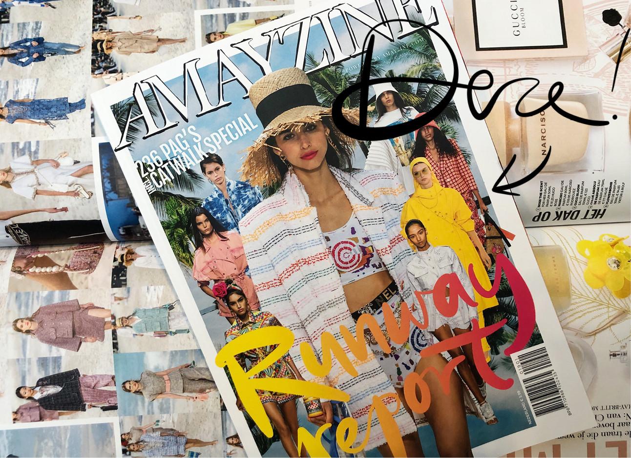 magazine runway report van amayzine nieuwste issue op andere magazines