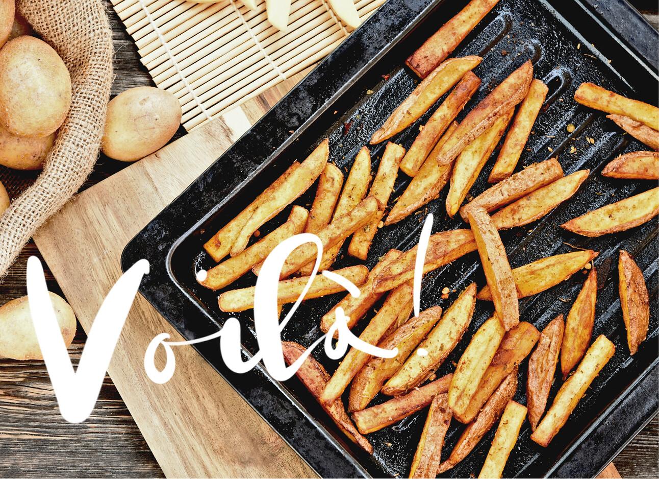 friet uit de oven