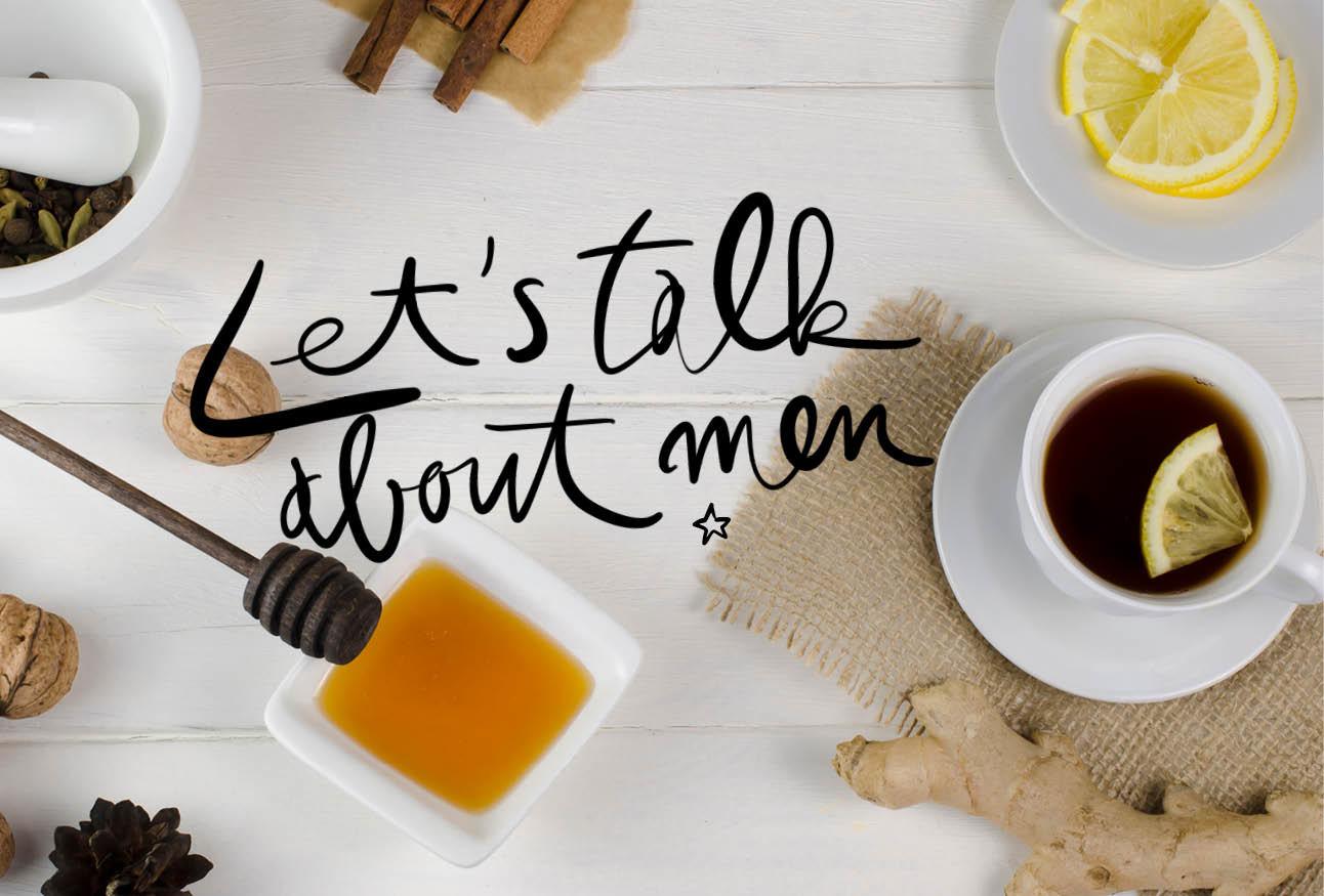 thee doet dingen met mannen kopje thee met citroen, gember, honing en kruiden