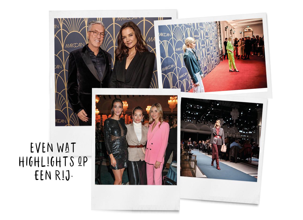 Marc Cain fashion show 2020 berlijn katie holmes