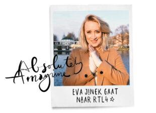 Daar gaat ze Eva Jinek gaat naar RTL4