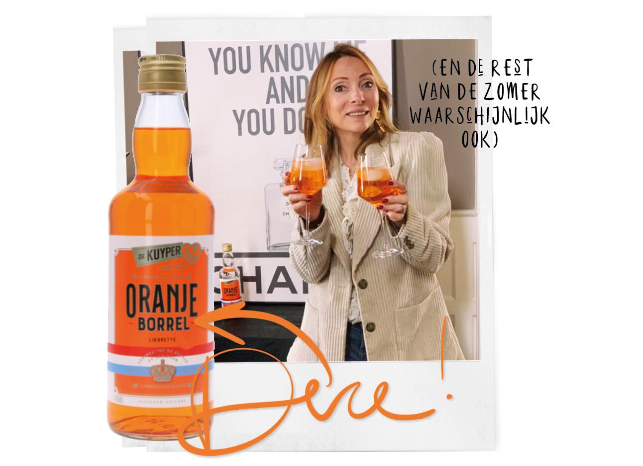 Vandaag drink je Oranje Spritz