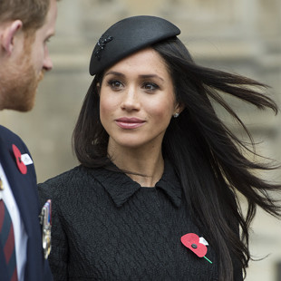 Meghan Markle op Remembrance Day