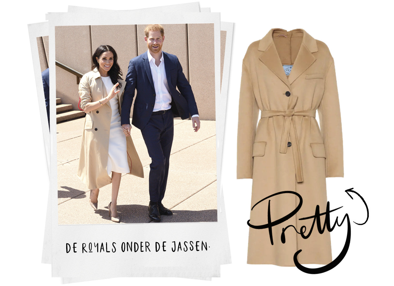 Shopping Meghan Markle jassen