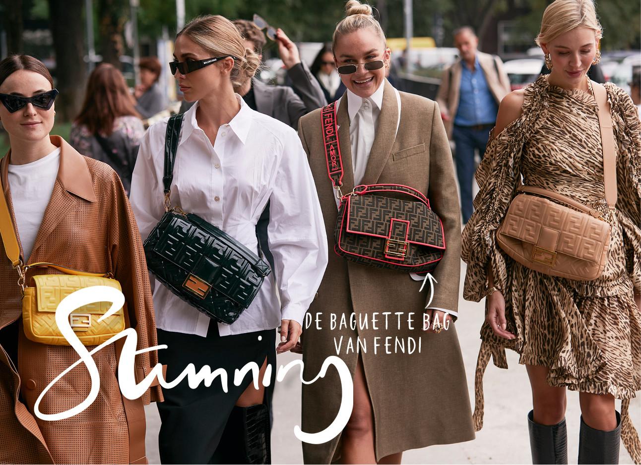 4 meiden van milaan fashion week