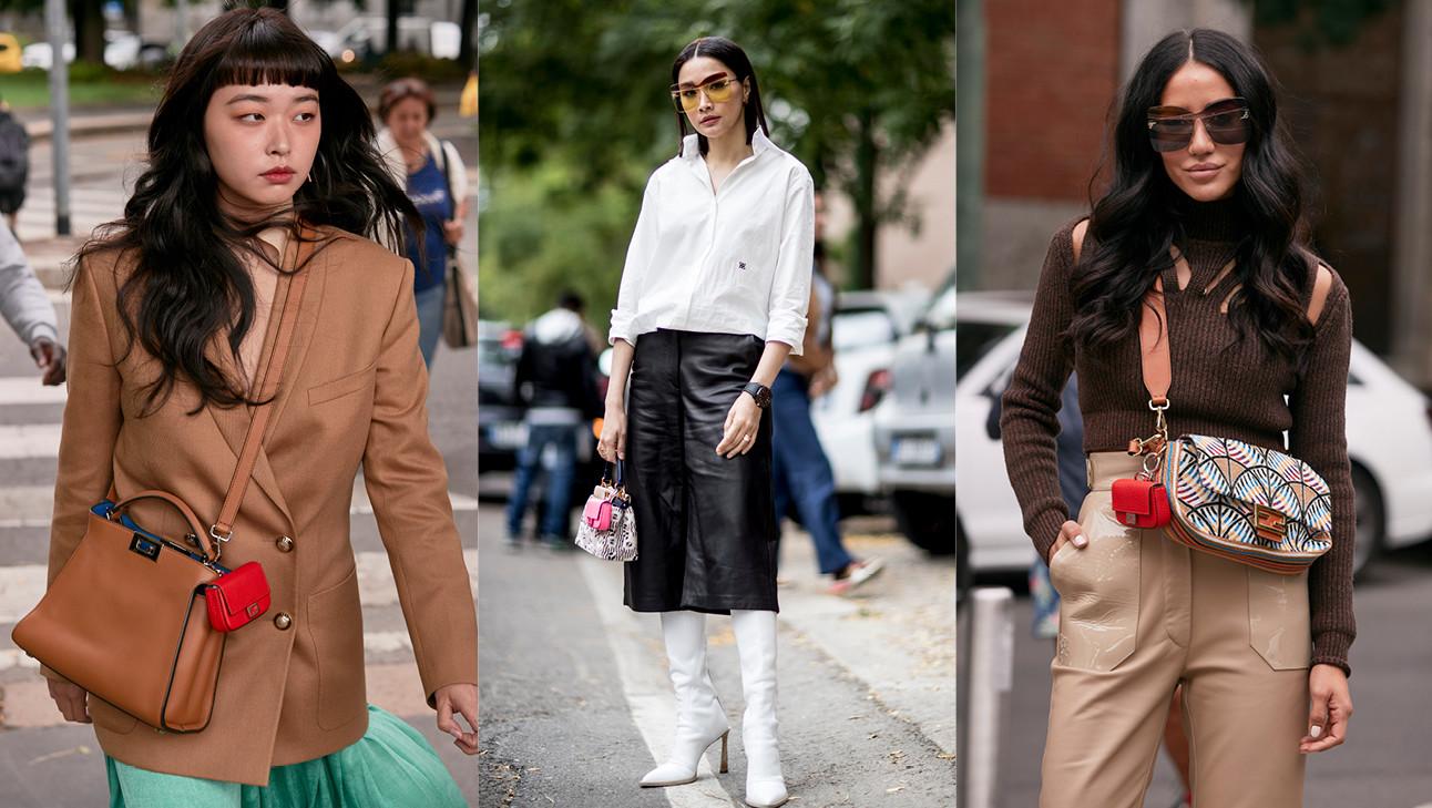 Beelden van MIlaan Fashion Week