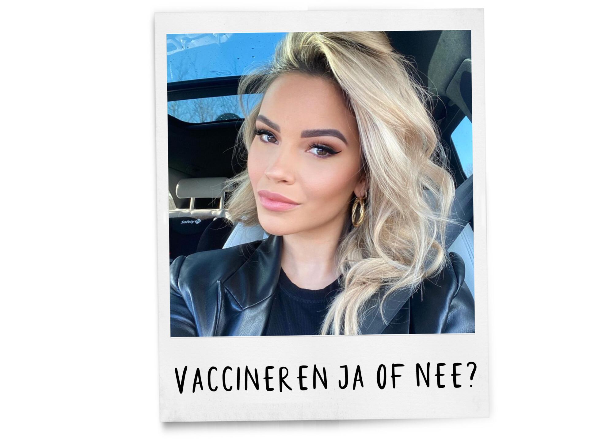 Monica Geuze Instagram selfie