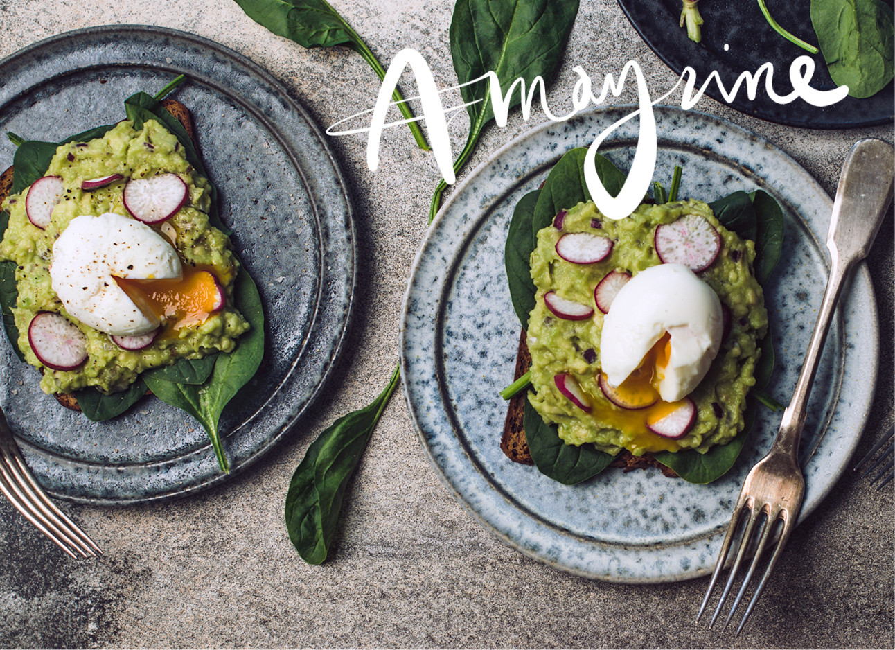 Recept favorflav met avocado spinazie en eieren