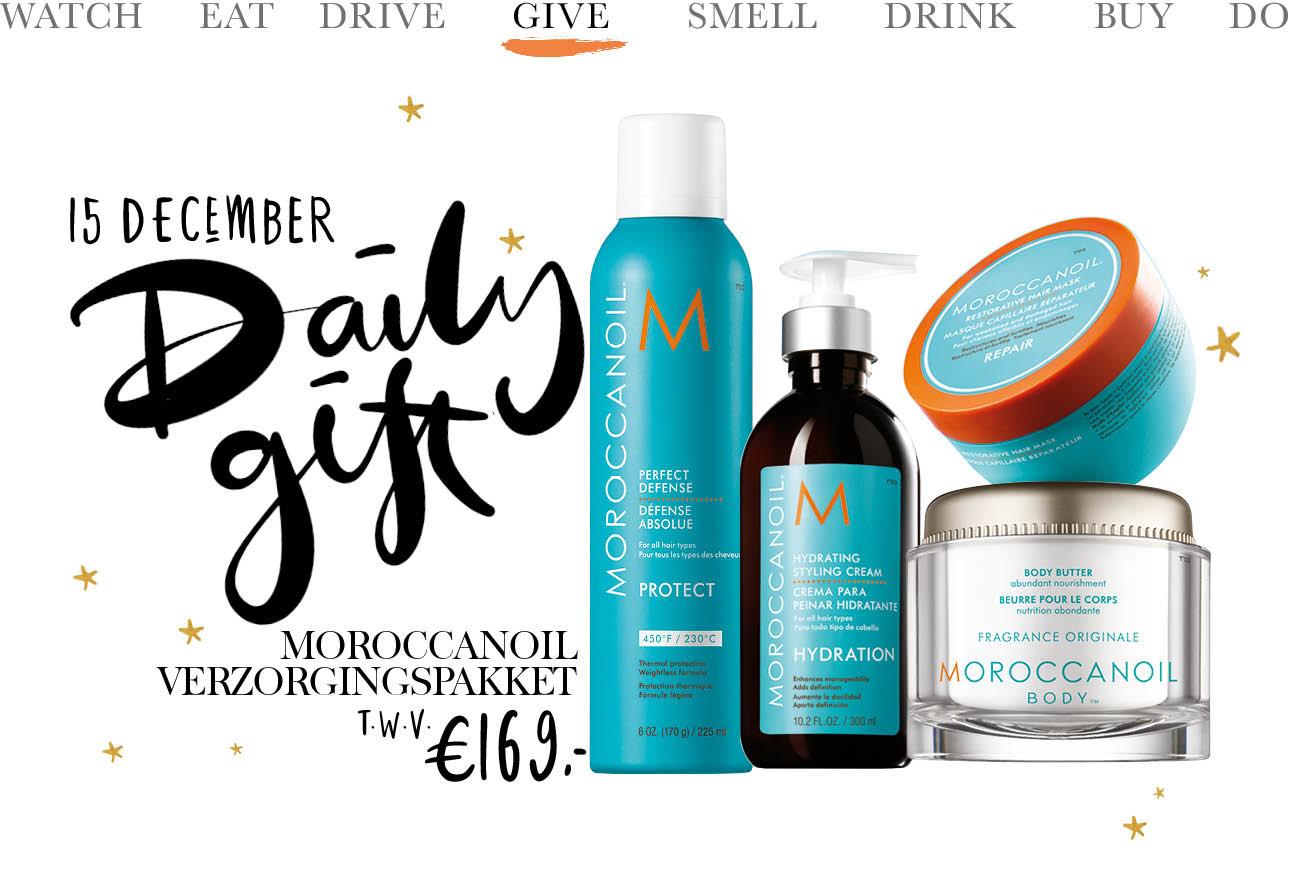 beeld van producten van maroccan oil