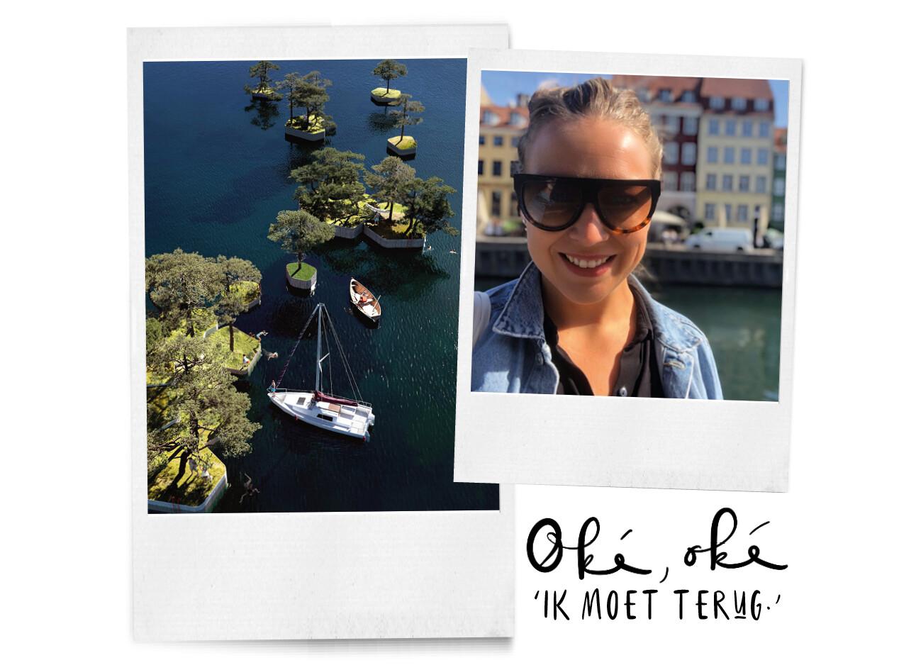 Kopenhagen islands en Adeline Mans in Copenhagen