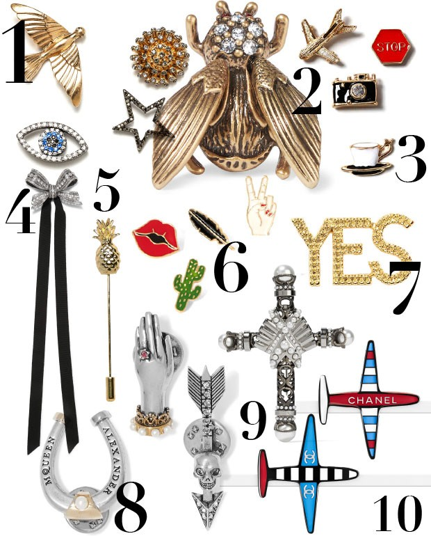 Musthaves-pins