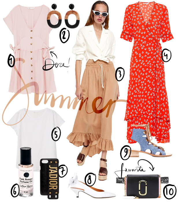 Summer musthaves