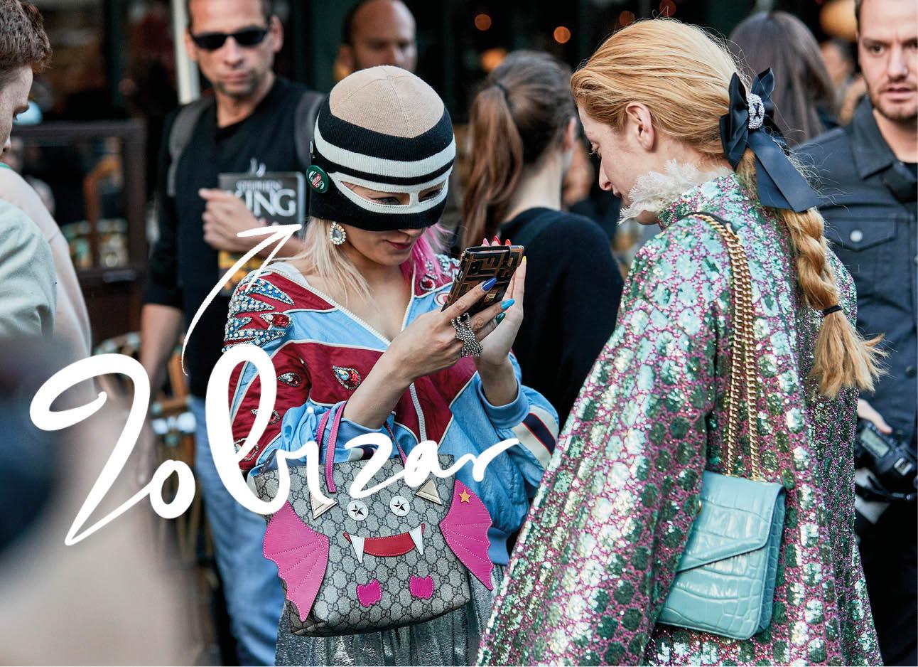 vrouw met bivak muts op fashion trends streetwear