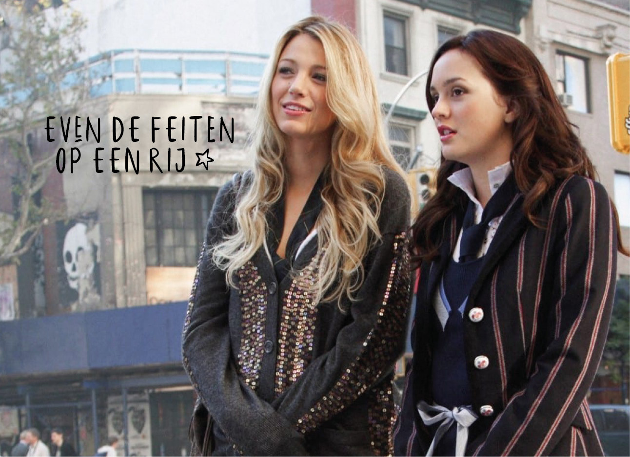 Gossip girl blair en Serena