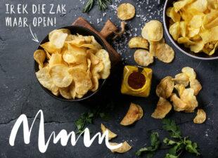 Goed nieuws: naturel chips is gewoon bijna gezond