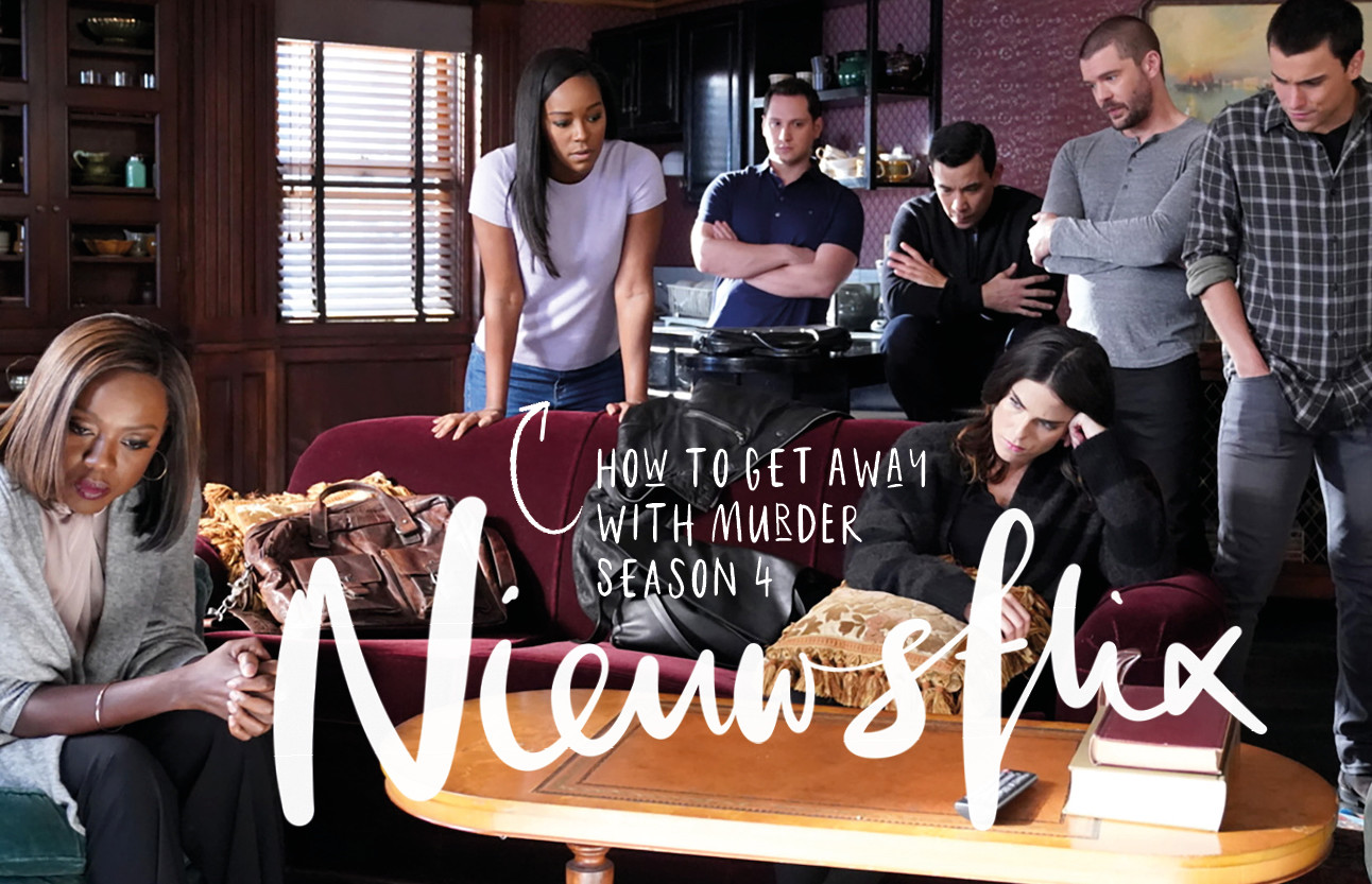 Nieuwsflix januari met How to get away with murder