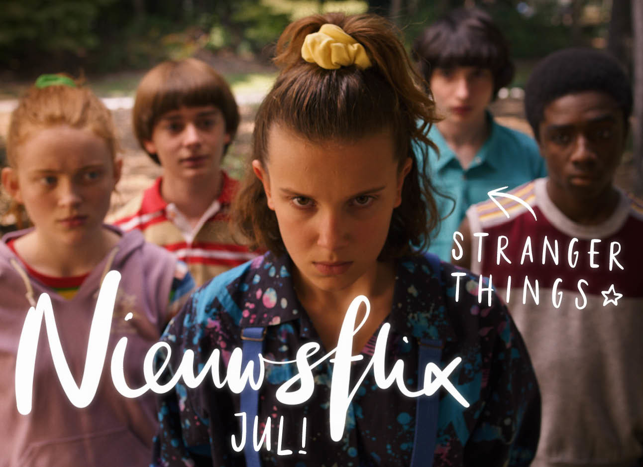 stranger things cast nieuwsflix juli