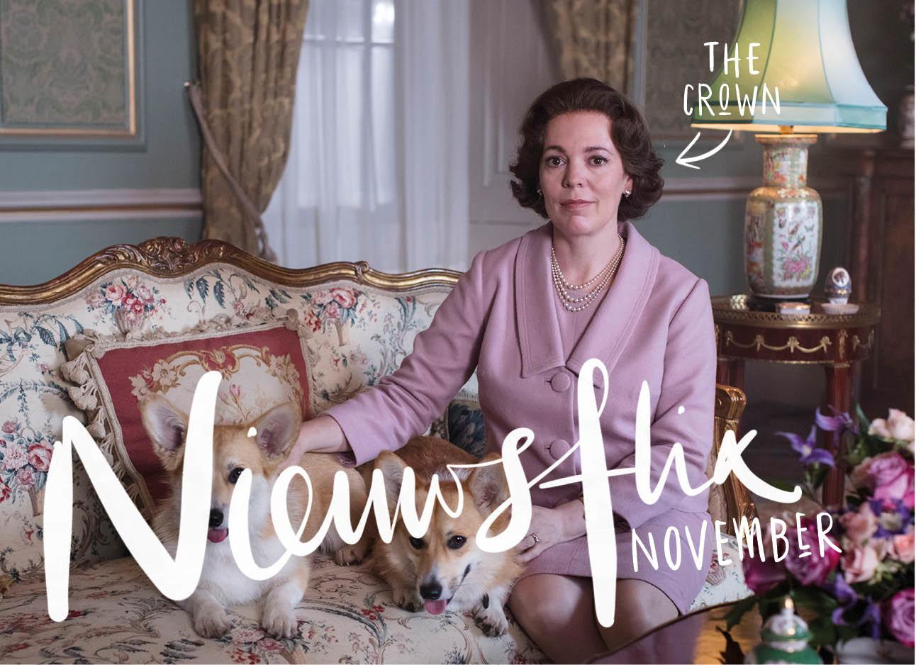 nieuwsflix van de maand december met als beeld een stukje uit the crown