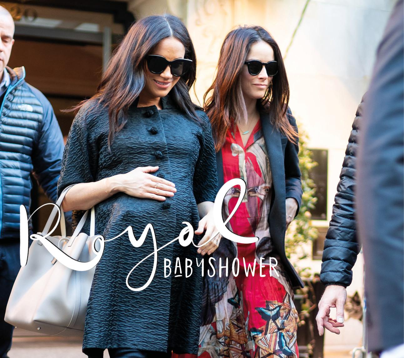 meghan markle in New York lopend met vriendin voor babyshower