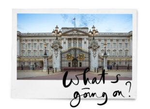 Creepy: er is vannacht ingebroken bij Buckingham Palace