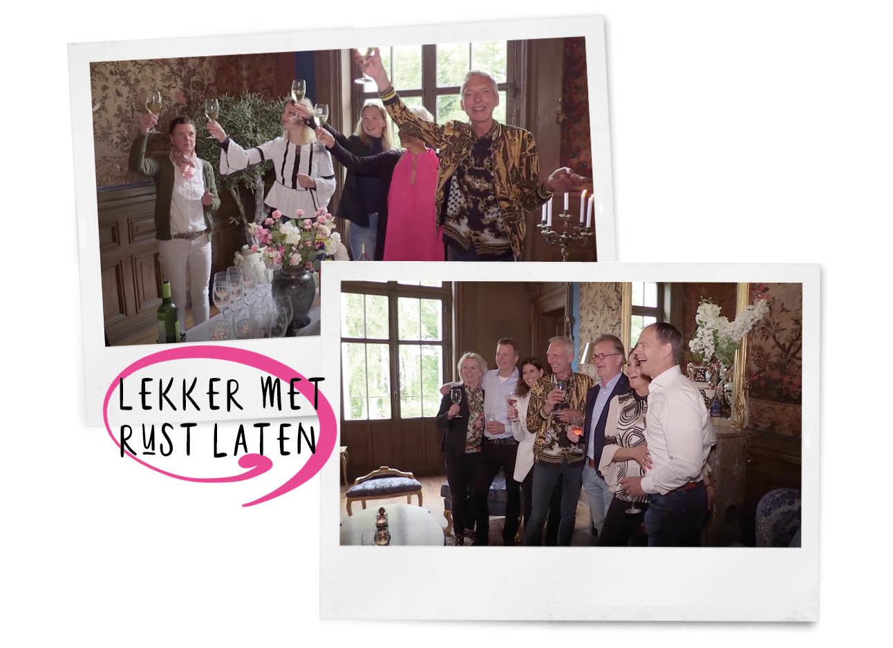 beelden uit de aflevering van Chateau Meiland