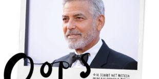 George Clooney in ziekenhuis na motorongeval