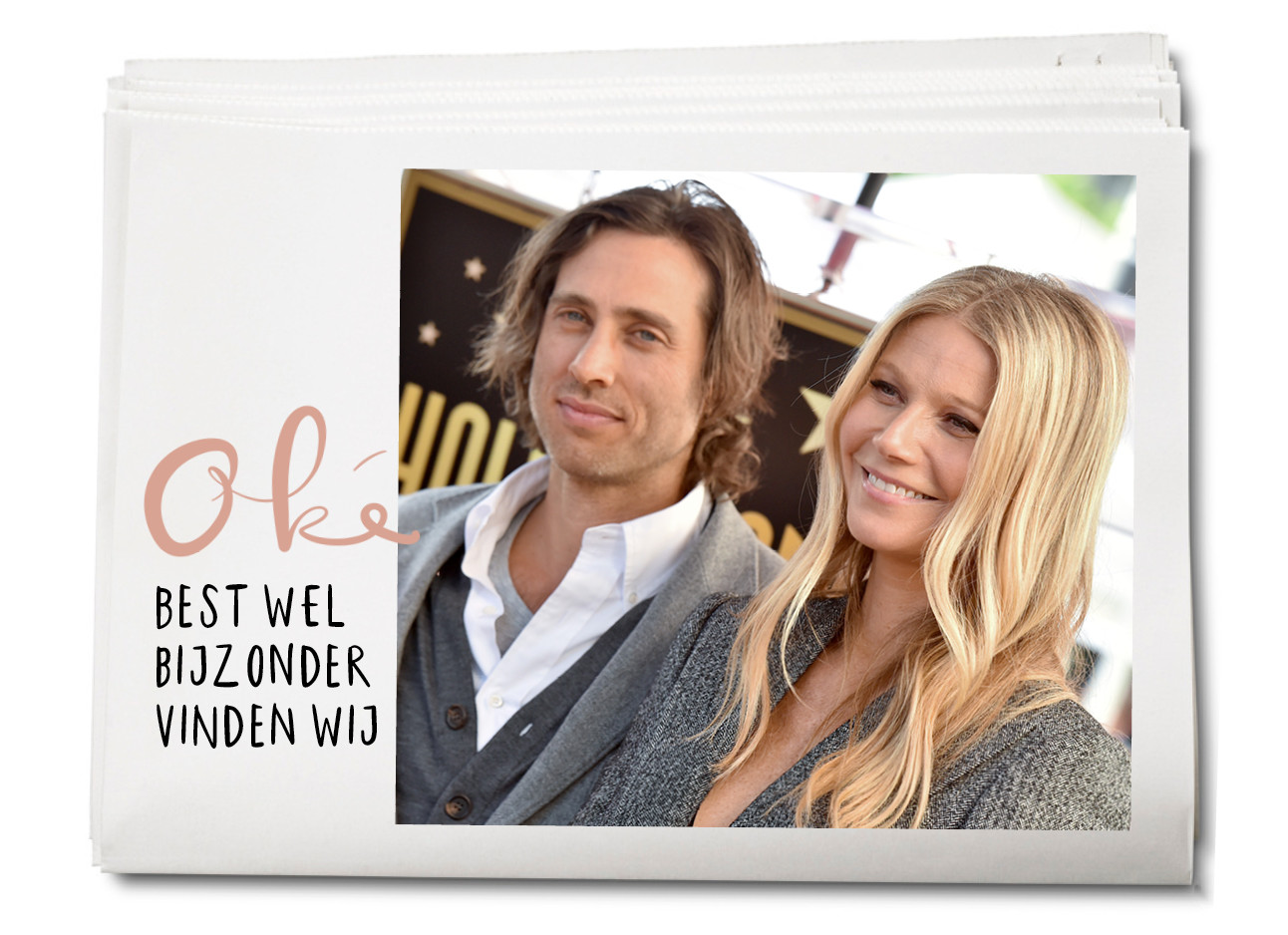 Gwyneth Paltrow met man