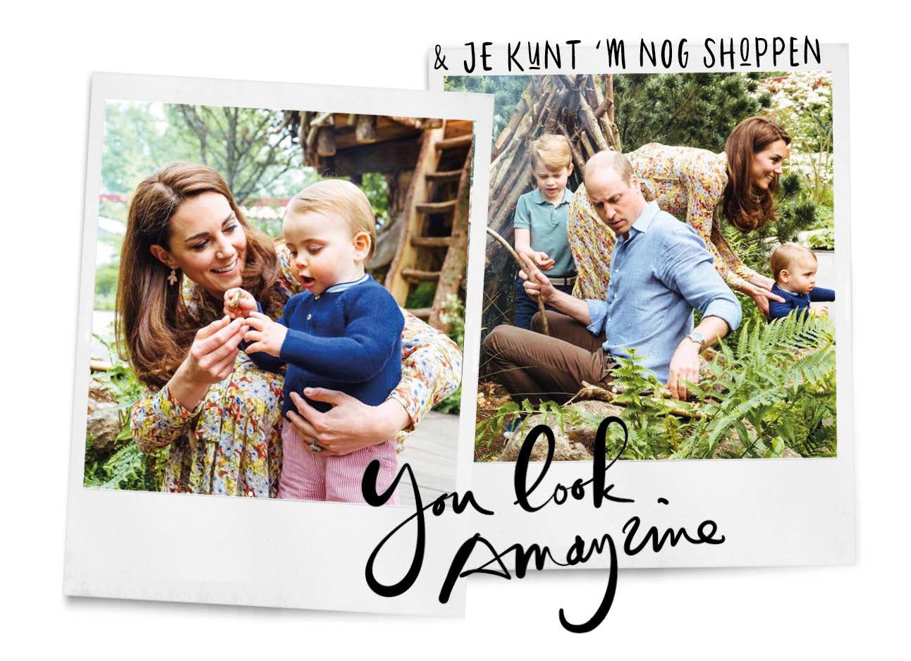 Kate middleton jurk van &Other stories royal family