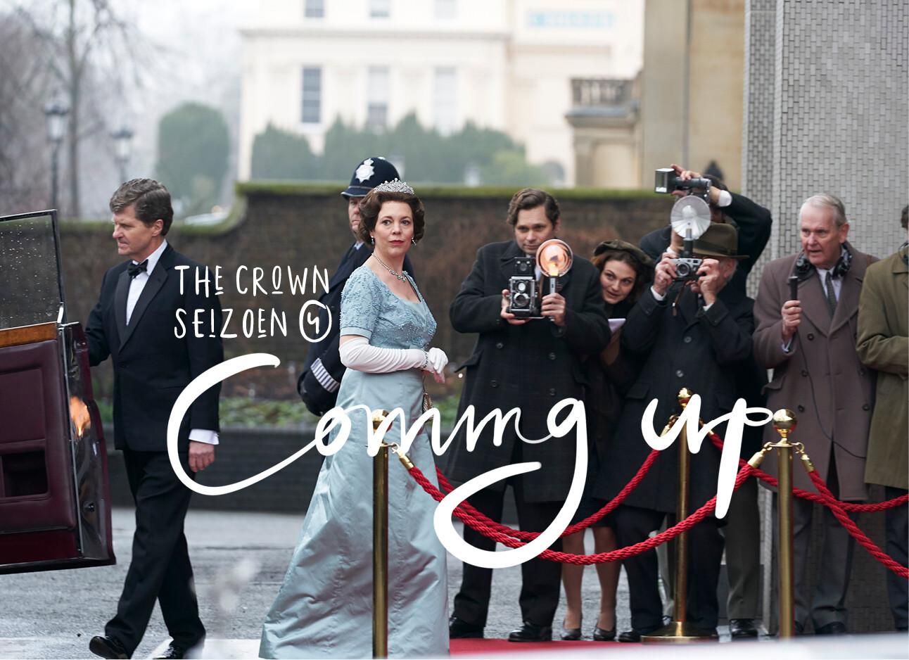 Eindelijk: op deze datum komt The Crown 4 op Netflix