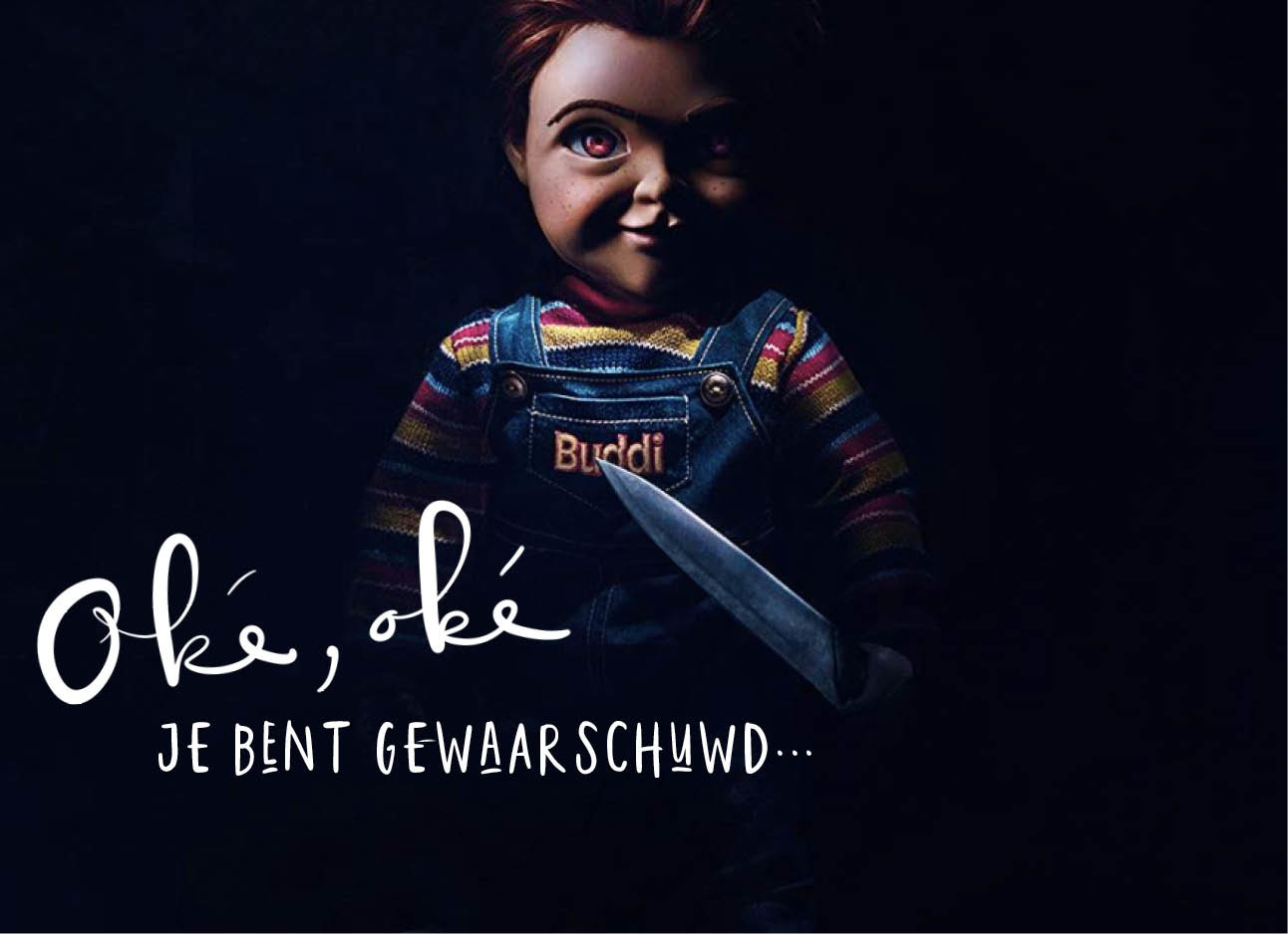 nieuwe trailer van de film child'splay met horrorpop chucky