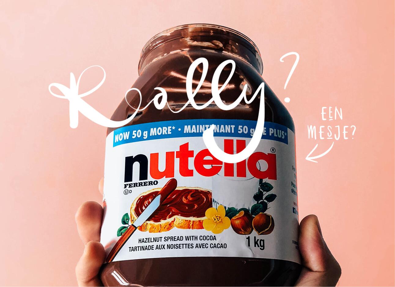 Mind blowing: zit er een verborgen mesje in je Nutella?