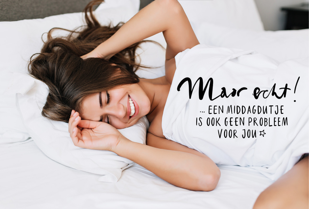 vrouw in bed